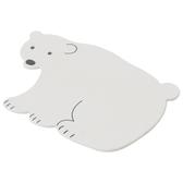 珪藻土踏墊 白熊 NITORI宜得利家居