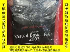 二手書博民逛書店Microsoft罕見Visual Basic .Net 2003 Kick Start ( 16開) 【詳見圖】