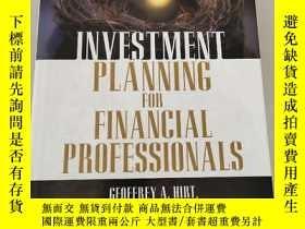 二手書博民逛書店Investment罕見Planning FOR Financial Professionals[金融專業人士投資