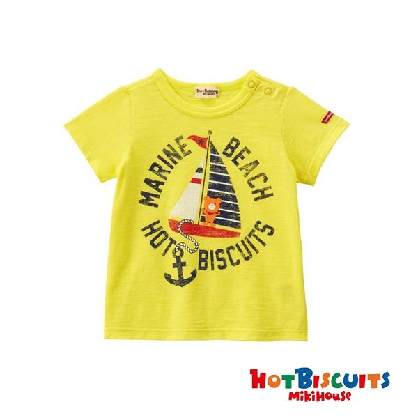 HOT BISCUITS 帆船短袖T恤