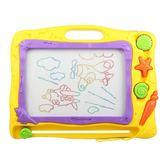 兒童畫畫板磁性寫字板寶寶嬰兒1-3歲2幼兒小孩玩具磁力彩色涂鴉板   HTCC