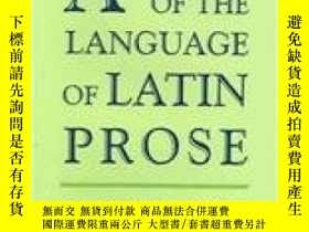二手書博民逛書店Aspects罕見Of The Language Of Latin ProseY364682 Reinhard
