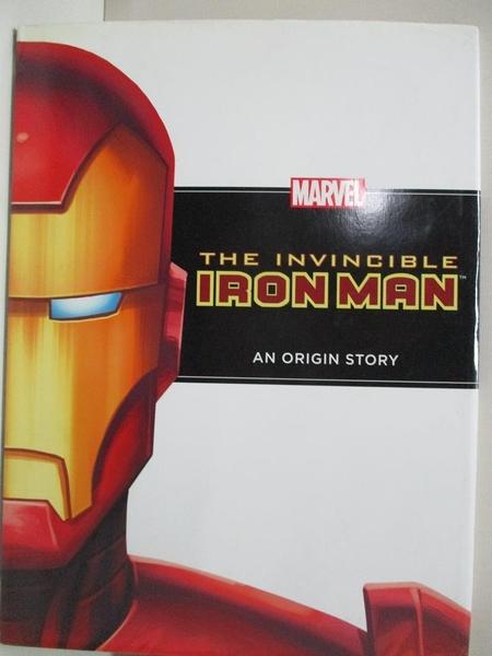 【書寶二手書T8/原文小說_D5N】The Invincible Iron Man: An Origin Story_Thomas, Rich (ADP)/ Rousseau, Craig (ILT)