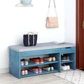 換鞋凳家用門口可坐長條凳穿鞋凳儲物凳長方形試鞋凳多功能長鞋柜  PA7700『男人範』
