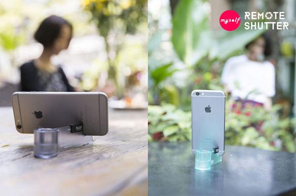 超推薦 自拍神器 Bcase 不求人自拍器 蘋果手機藍芽遙控拍照 自拍神器
