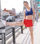 邊運動短褲女夏季含內襯速干透氣訓練跑步健身熱褲夢想巴士