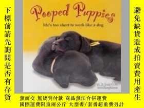 二手書博民逛書店Pooped罕見Puppies: Life s Too Short to Work Like a Dog-便便小狗