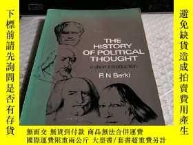 二手書博民逛書店THE罕見HISTORY OF POLITICAL THOUGH