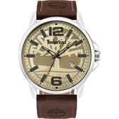 Timberland 天柏嵐 大地系列大三針手錶-46mm TBL.15905JYS/07-G