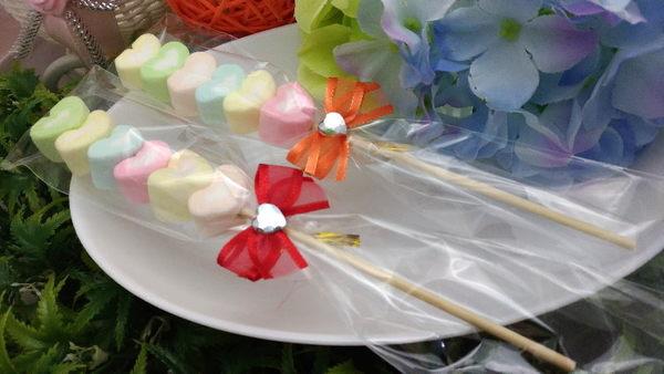 《婚禮小物- 彩戀甜心》100支*送花筒/另有精緻小卡可加購