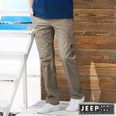 【JEEP】美式野練口袋工作長褲 (深卡其)