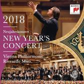 【停看聽音響唱片】【CD】黎卡多.慕提 & 維也納愛樂 / 2018維也納新年音樂會【2CD】