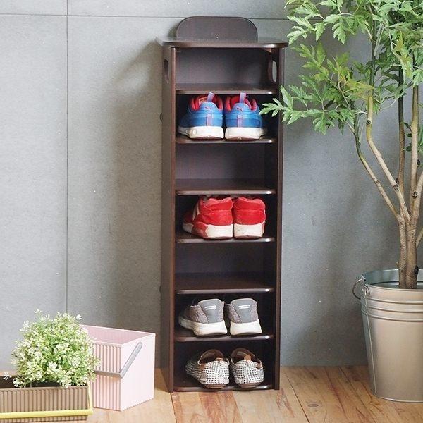 玄關鞋櫃 鞋櫃 北歐 鞋架【I0182】韓系品味簡約7層鞋櫃(兩色) MIT台灣製 收納專科