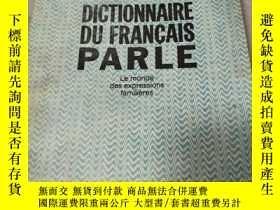 二手書博民逛書店DICTIONNAIRE罕見DU FRANCAIS PARLEY