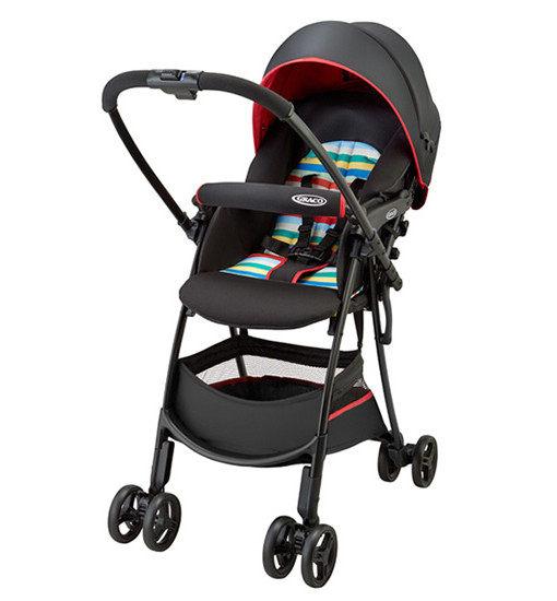 Graco 超輕量型雙向嬰幼兒手推車 輕旅行 CITI GO-繽紛紅【佳兒園婦幼館】