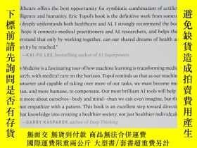 二手書博民逛書店罕見Deep Medicine: How Artificial
