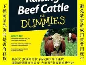 二手書博民逛書店Raising罕見Beef Cattle For DummiesY410016 Scott Royer, Ni