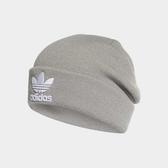 X-adidas Trefoil Beanie 灰 白 三葉草 帽子 男女款 毛帽 DH4296