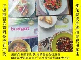 二手書博民逛書店fish罕見FOOD bowl FOOD vegetables budget 4本合集Y273911 MUR