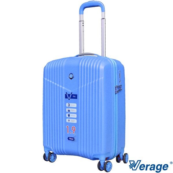 Verage ~維麗杰 19吋超輕量幻旅系列登機箱 (藍)