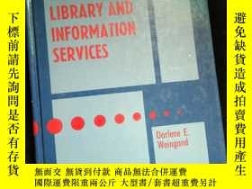 二手書博民逛書店Marketing Planning罕見Libraey and Information ServicesY16