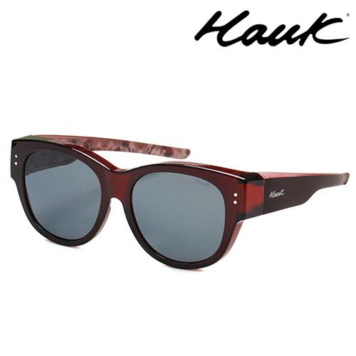 HAWK偏光太陽套鏡(眼鏡族專用)HK1016-09A