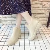 雨靴 時尚女士防水鞋日系雨鞋女短筒春秋冬雨靴廚房成人防滑膠鞋 小天後