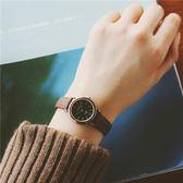 流行女錶時尚潮流簡約森女款手錶日韓女學生ulzzang復古小巧迷你皮帶【全館85折最後兩天】