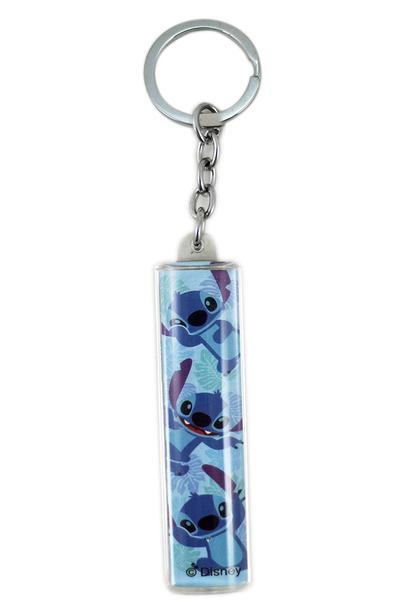 【卡漫城】 史迪奇 圓條 鑰匙圈 壓克力 星際寶貝 Scrump 醜丫頭 Stitch 裝飾 長條 吊飾 掛飾