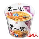統一來一客杯麵韓式泡菜風味67G x24杯(箱)【愛買】