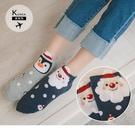 《ZB0769》韓國製。三件組可愛聖誕帽聖誕樣式中筒襪 OrangeBear