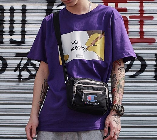 FINDSENSE H1夏季 新款日本 街頭 個性印花  時尚 情侶 寬鬆 潮牌