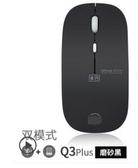 無聲靜音可充電無線滑鼠