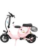 電動自行車可折疊式男女兩輪成人代步親子迷你小型電瓶電動車