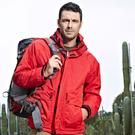 防風外套男士戶外 秋冬款單層沖鋒衣 ARK吉普 防風防水透氣登山騎行外套 美物居家