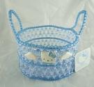 【震撼精品百貨】Hello Kitty 凱蒂貓~珠珠置物籃