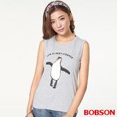 BOBSON 女款貼布繡圖案背心(27091-82)