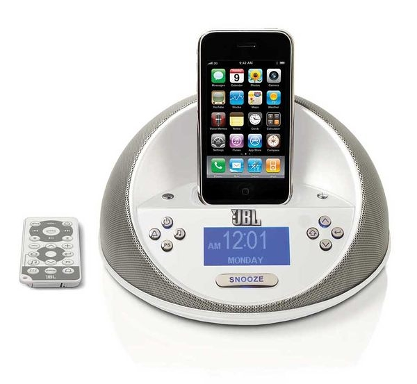 JBL On Time Micro (銀色) 多媒體喇叭 適用iPhone4以下/iPod touch、Nano、classic