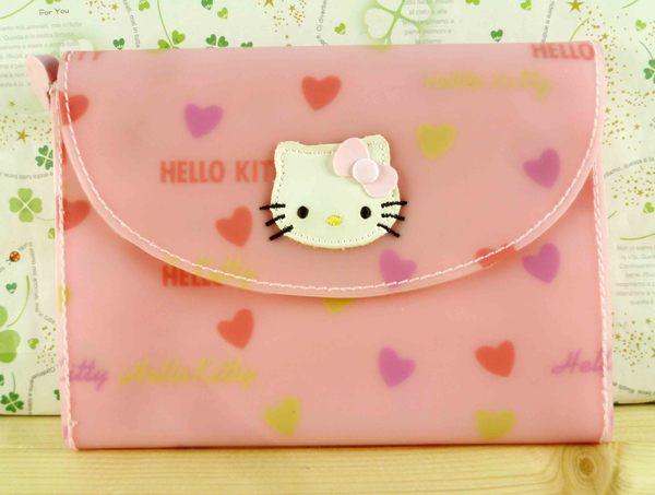 【震撼精品百貨】Hello Kitty 凱蒂貓-凱蒂貓皮夾/短夾-矽膠材質-粉色