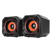 [哈GAME族]免運費 可刷卡 KINYO 耐嘉 US-215 低音雙震膜 多媒體音箱 US215 線控音量旋鈕 USB供電