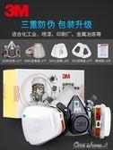 3M防毒面具噴漆專業防護口罩6200防油漆化工氣體工業粉塵專用面罩中秋節促銷