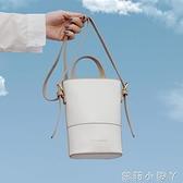 迷你小包包2020新款潮韓版INS網紅水桶包百搭少女單肩斜挎手機包 蘿莉新品
