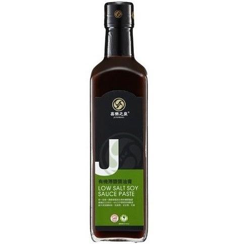 喜樂之泉 有機薄鹽醬油膏 500ml/瓶 效期至2022.03.12