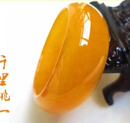 玉鐲玉手鐲 新疆和田黃玉金絲玉戈壁玉雞油黃加寬加厚 女款玉鐲子 歐美韓熱銷