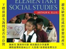 二手書博民逛書店Teaching罕見And Learning Elementary Social StudiesY364682