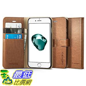 [美國直購] Spigen 042CS20546 棕色 [Wallet S] (4.7吋) iPhone 7 Case 皮夾式 手機殼 保護殼