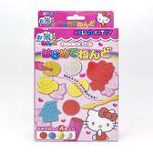 日本 Gincho Hello Kitty 米黏土4色附模具組(2490)  -超級BABY