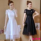 洋裝 夏季新款初中高中學生公主裙子韓版少森系仙長裙