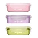 Kangovou 小袋鼠不鏽鋼分隔安全餐盒(小-320ml)3色可選|便當盒【總代理公司貨】