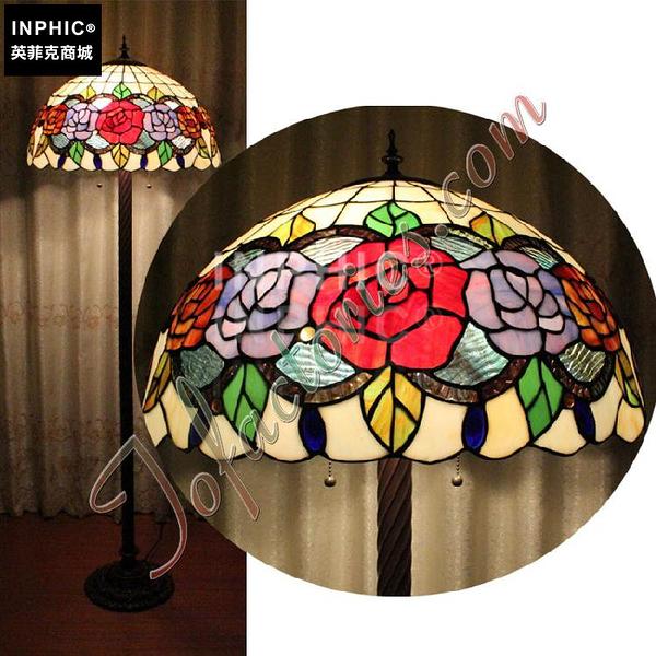INPHIC-田園玫瑰對花落地燈19世紀英倫典範臥室燈具會所辦公室燈飾_S2626C